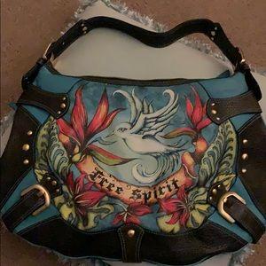 "Isabella Fiore ""Free Spirit"" leather bag"